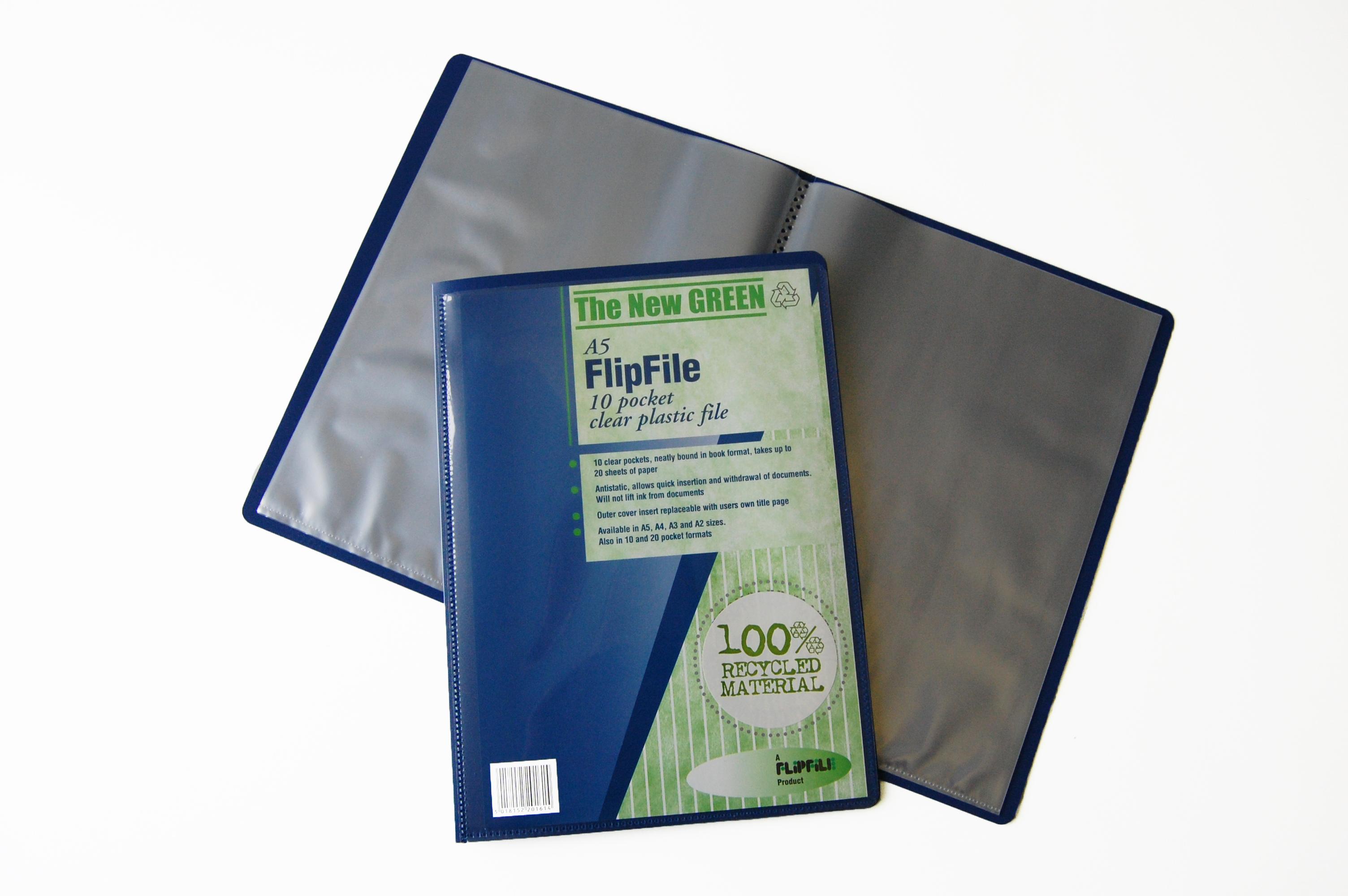 Flipfile A3 Display Book 20 Pockets